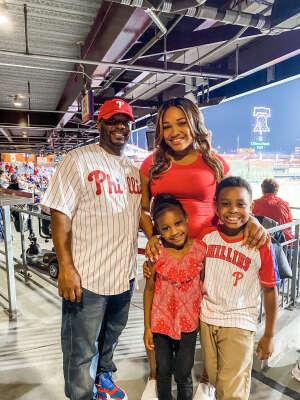 Roberts' Family attended Philadelphia Phillies vs. Atlanta Braves - MLB on Jun 8th 2021 via VetTix