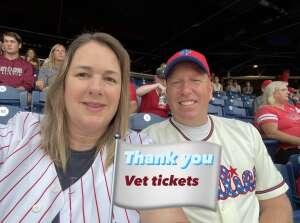 Steve Ramer attended Philadelphia Phillies vs. Atlanta Braves - MLB on Jun 8th 2021 via VetTix
