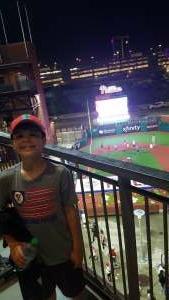 JR attended Philadelphia Phillies vs. Atlanta Braves - MLB on Jun 8th 2021 via VetTix