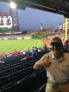 Ken attended Philadelphia Phillies vs. Atlanta Braves - MLB on Jun 8th 2021 via VetTix