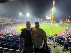 John B attended Philadelphia Phillies vs. Atlanta Braves - MLB on Jun 8th 2021 via VetTix