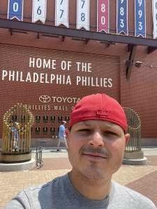 Joe B attended Philadelphia Phillies vs. Atlanta Braves - MLB on Jun 8th 2021 via VetTix