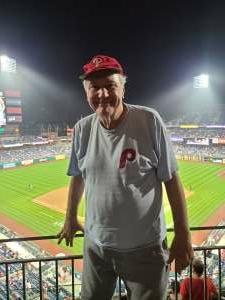 Steve attended Philadelphia Phillies vs. Atlanta Braves - MLB on Jun 8th 2021 via VetTix