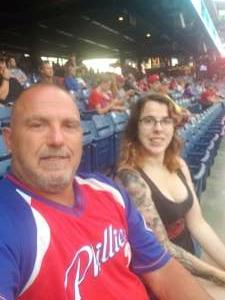 Carmen attended Philadelphia Phillies vs. Atlanta Braves - MLB on Jun 8th 2021 via VetTix