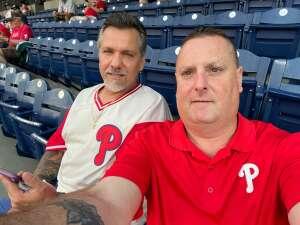 Steven attended Philadelphia Phillies vs. Atlanta Braves - MLB on Jun 8th 2021 via VetTix