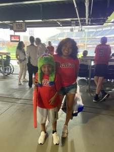 Maria attended Philadelphia Phillies vs. Atlanta Braves - MLB on Jun 8th 2021 via VetTix