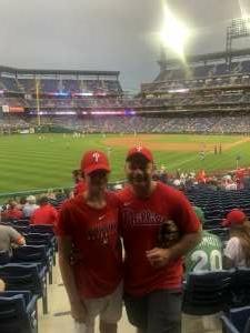 Jerry attended Philadelphia Phillies vs. Atlanta Braves - MLB on Jun 8th 2021 via VetTix
