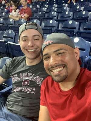Carlos Santiago attended Philadelphia Phillies vs. Atlanta Braves - MLB on Jun 8th 2021 via VetTix