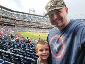 Devin attended Philadelphia Phillies vs. Atlanta Braves - MLB on Jun 8th 2021 via VetTix