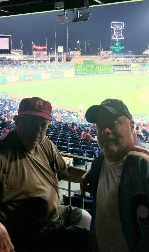 Joseph Chowanes attended Philadelphia Phillies vs. Atlanta Braves - MLB on Jun 8th 2021 via VetTix
