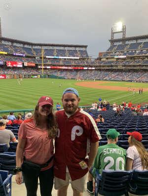 Air Force Veteran  attended Philadelphia Phillies vs. Atlanta Braves - MLB on Jun 8th 2021 via VetTix