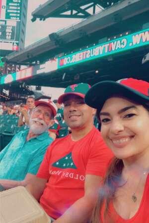 SFC Mercado attended Philadelphia Phillies vs. Atlanta Braves - MLB on Jun 8th 2021 via VetTix