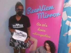 Q. attended Maria Caruso's Rearview Mirror on Jun 4th 2021 via VetTix