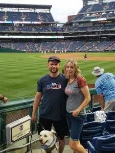 Mike attended Philadelphia Phillies vs. Atlanta Braves - MLB on Jun 9th 2021 via VetTix