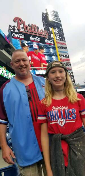 Sean D attended Philadelphia Phillies vs. Atlanta Braves - MLB on Jun 9th 2021 via VetTix