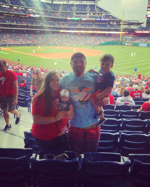 Mike Kenney attended Philadelphia Phillies vs. Atlanta Braves - MLB on Jun 9th 2021 via VetTix