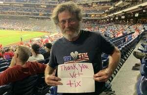 Ken attended Philadelphia Phillies vs. Atlanta Braves - MLB on Jun 9th 2021 via VetTix