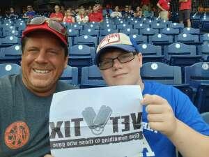 Walt attended Philadelphia Phillies vs. Atlanta Braves - MLB on Jun 9th 2021 via VetTix