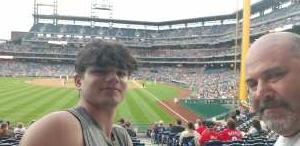 Howie attended Philadelphia Phillies vs. Atlanta Braves - MLB on Jun 9th 2021 via VetTix