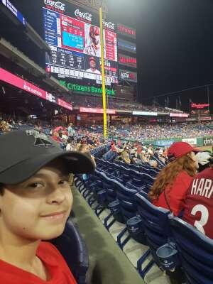 shawn palko  attended Philadelphia Phillies vs. Atlanta Braves - MLB on Jun 9th 2021 via VetTix