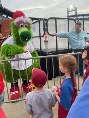 Megan A. attended Philadelphia Phillies vs. Atlanta Braves - MLB on Jun 9th 2021 via VetTix