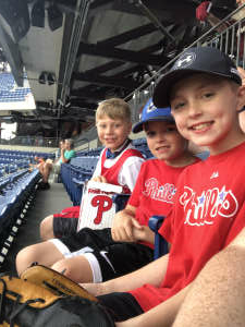 Raymond  attended Philadelphia Phillies vs. Atlanta Braves - MLB on Jun 9th 2021 via VetTix