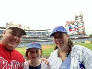 Daniel Blake attended Philadelphia Phillies vs. Atlanta Braves - MLB on Jun 9th 2021 via VetTix