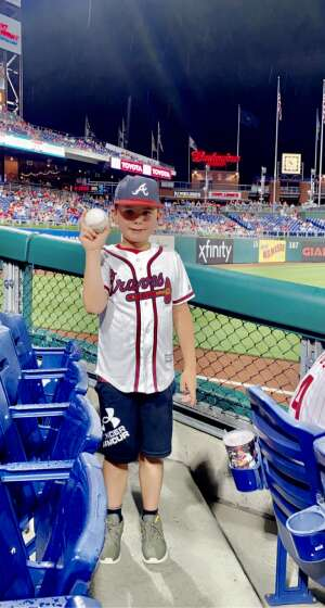 Justin Snyder attended Philadelphia Phillies vs. Atlanta Braves - MLB on Jun 9th 2021 via VetTix