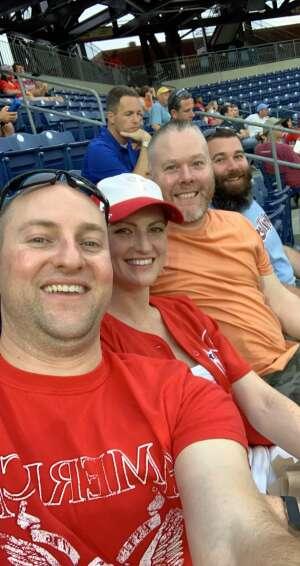 Greg attended Philadelphia Phillies vs. Atlanta Braves - MLB on Jun 9th 2021 via VetTix