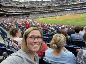 Vikki attended Philadelphia Phillies vs. Atlanta Braves - MLB on Jun 9th 2021 via VetTix