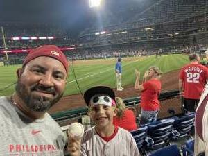 Michael attended Philadelphia Phillies vs. Atlanta Braves - MLB on Jun 9th 2021 via VetTix