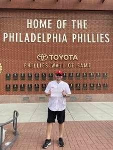 Jason Gozikowski attended Philadelphia Phillies vs. Atlanta Braves - MLB on Jun 9th 2021 via VetTix