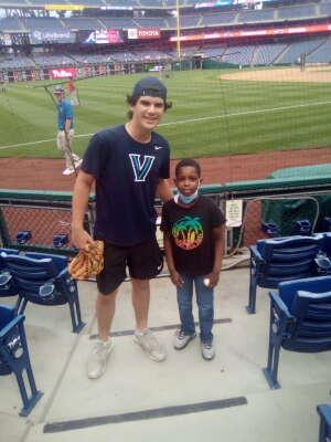 Jamil attended Philadelphia Phillies vs. Atlanta Braves - MLB on Jun 9th 2021 via VetTix