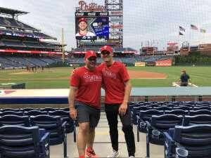 Jerry attended Philadelphia Phillies vs. Atlanta Braves - MLB on Jun 9th 2021 via VetTix