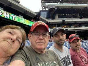 Robert attended Philadelphia Phillies vs. Atlanta Braves - MLB on Jun 9th 2021 via VetTix