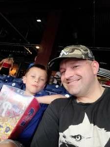 Devin attended Philadelphia Phillies vs. Atlanta Braves - MLB on Jun 9th 2021 via VetTix