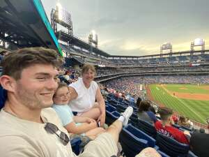 Hank attended Philadelphia Phillies vs. Atlanta Braves - MLB on Jun 9th 2021 via VetTix