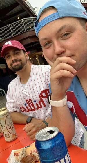 Justin  attended Philadelphia Phillies vs. Atlanta Braves - MLB on Jun 9th 2021 via VetTix