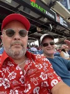 Air Force Veteran  attended Philadelphia Phillies vs. Atlanta Braves - MLB on Jun 9th 2021 via VetTix