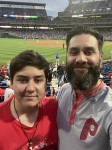 Chris attended Philadelphia Phillies vs. Atlanta Braves - MLB on Jun 9th 2021 via VetTix