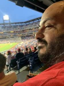 Gordon attended Philadelphia Phillies vs. Atlanta Braves - MLB on Jun 9th 2021 via VetTix