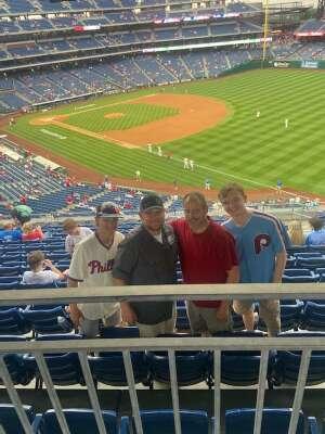 John attended Philadelphia Phillies vs. Atlanta Braves - MLB on Jun 9th 2021 via VetTix