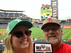 Jim Mitchell attended Philadelphia Phillies vs. Atlanta Braves - MLB on Jun 9th 2021 via VetTix
