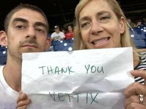 Lorry Faber  attended Philadelphia Phillies vs. Atlanta Braves - MLB on Jun 9th 2021 via VetTix
