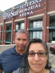 Lisa attended Jacksonville Sharks vs. Orlando Predators - National Arena League on Jun 12th 2021 via VetTix