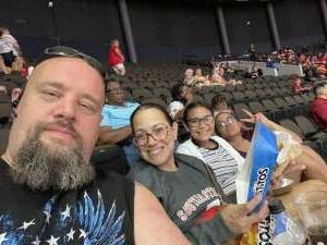 Adam B attended Jacksonville Sharks vs. Orlando Predators - National Arena League on Jun 12th 2021 via VetTix