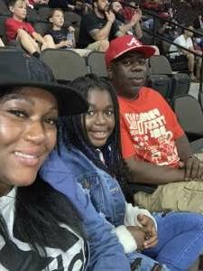 Aj attended Jacksonville Sharks vs. Orlando Predators - National Arena League on Jun 12th 2021 via VetTix