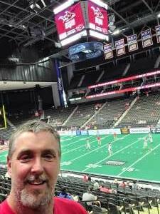 Greg attended Jacksonville Sharks vs. Orlando Predators - National Arena League on Jun 12th 2021 via VetTix