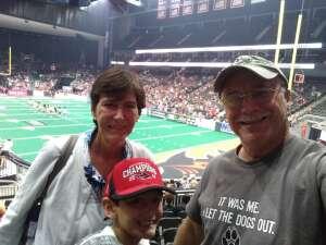 John Soultanian attended Jacksonville Sharks vs. Orlando Predators - National Arena League on Jun 12th 2021 via VetTix