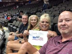 Jerry G attended Jacksonville Sharks vs. Orlando Predators - National Arena League on Jun 12th 2021 via VetTix